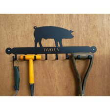 Pig Tool Rack in Black