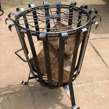 Garden Brazier in Black