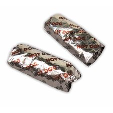 Foil Hot Dog Wrappers (500 Count)
