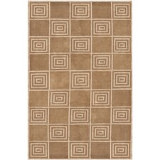 Alistair Tiles Truffle Rug