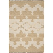 Plains Creek Desert Cream/Tan Area Rug
