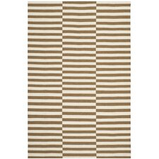 River Reed Stripe Adobe Rug