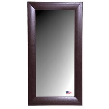 Jovie Jane Espresso Leather Tall Mirror