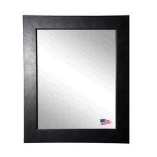 <strong>Rayne Mirrors</strong> Ava Executive Black Wall Mirror