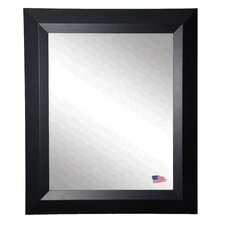 <strong>Rayne Mirrors</strong> Ava Contemporary Matte Black Wall Mirror