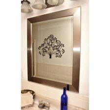 Jovie Jane Silver Wide Wall Mirror