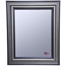 Ava Smoked Silver Wall Mirror