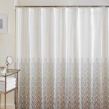 Plimpton Flame Cotton Shower Curtain