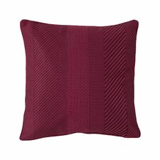 Ziggurat Geo Embroidered Decorative Pillow