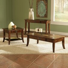 <strong>Bernards</strong> Shenadoah 3 Piece Coffee Table Set