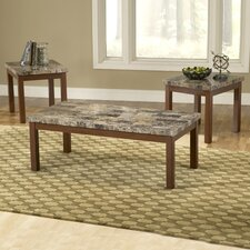 <strong>Bernards</strong> 3 Piece Coffee Table Set