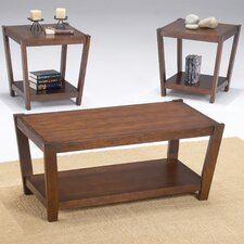 <strong>Bernards</strong> Sabre 3 Piece Coffee Table Set