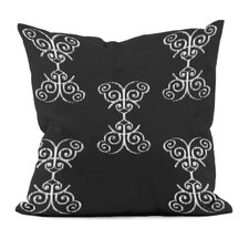 <strong>E By Design</strong> Floral Motif Decorative Pillow