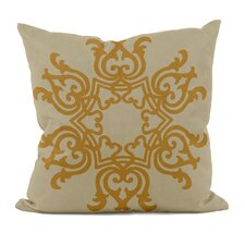 Floral Motif Decorative Pillow