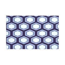 Hex Appeal Geometric Print Polyester Fleece Throw Blanket