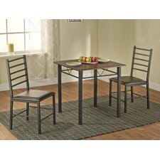 <strong>TMS</strong> Samara 3 Piece Dining Set