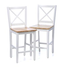 "Virginia 30"" Bar Stool (Set of 2)"