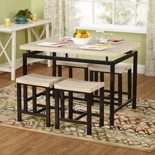 Delano 5 Piece Dining Set