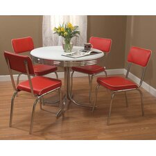 Retro 5 Piece Dining Set