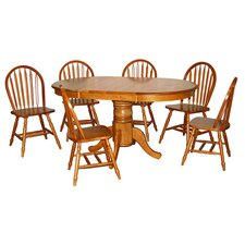 <strong>TMS</strong> Farmhouse 7 Piece Dining Set