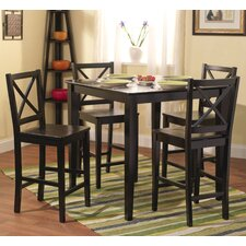 <strong>TMS</strong> 5 Piece Counter Height Dining Set