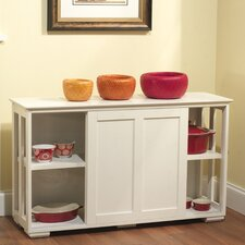 Kitchen Island with Wood Top IV