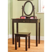 <strong>TMS</strong> 3 Piece Vanity Set with Mirror