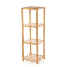 <strong>TMS</strong> Bamboo 4 Tier Vertical Shelf