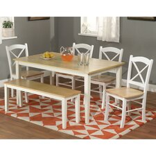 Tiffany 6 Piece Dining Set