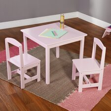 <strong>TMS</strong> Hayden Kids' 3 Piece Square Table and Chair Set