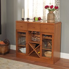 Sedona 6 Bottle Tabletop Bar Cabinet