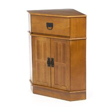 Mission 1 Drawer Corner Cabinet