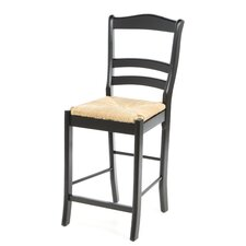 "Paloma 24"" Bar Stool in Black"