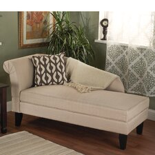 Leena Cotton Storage Chaise Lounge