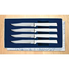 4 Piece Serrated Steak Knife Gift Set