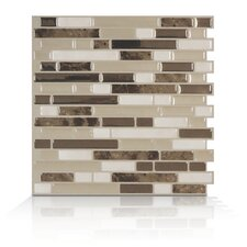 Mosaik Self Adhesive Wall Tile in Bellagio Bello (Set of 6)