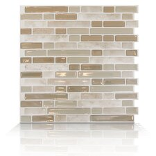 Mosaik Self Adhesive Wall Tile in Bellagio Sabbia (Set of 6)