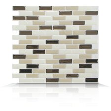 Mosaik Self Adhesive Wall Tile in Murano Dune (Set of 6)