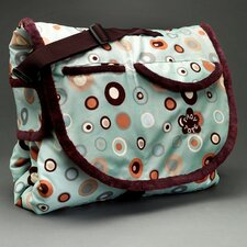 Tady Tote Bubble Print Portable Playmat/Diaper Bag