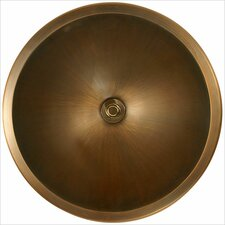 <strong>Linkasink</strong> Bronze Small Round Smooth Bathroom Sink