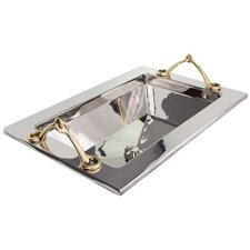 Handeled Tray Bathroom Sink