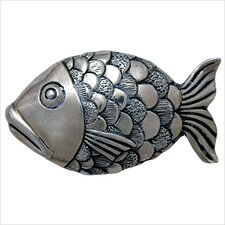 "Large Fish 1.5"" Pop-Up Bathroom Sink Drain"
