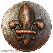 "Fleur-de-lis 1.5"" Pop-Up Bathroom Sink Drain"