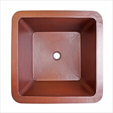 "<strong>Linkasink</strong> 16"" x 16"" Small Square Bar Sink"
