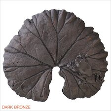"Large Leaf 1.5"" Pop-Up Bathroom Sink Drain"