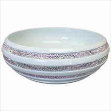 Swarovski Crystal Stripe Bathroom Sink
