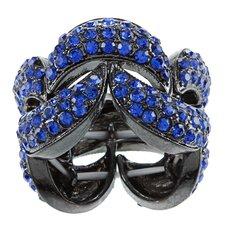 R Crystal Stretch Ring