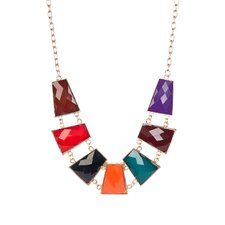 <strong>KC Signatures</strong> Faceted Resin Necklace