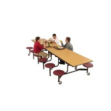 Mobile 12 Stool Table