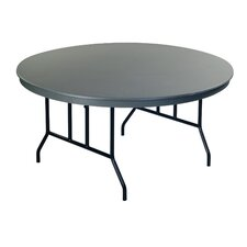 Dynalite ABS Plastic Round Folding Table